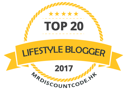 Banners for Top 20 lifestyle blogger