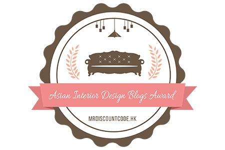 Banners for Asian Interior Design Blogs Award