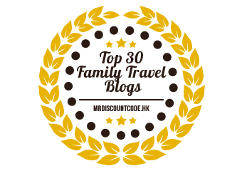 Banners for Top 30 Family Travel Blogs