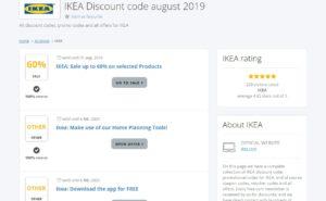 🤑 IKEA Discount Code || 60% Discount ⇒ 100% Working