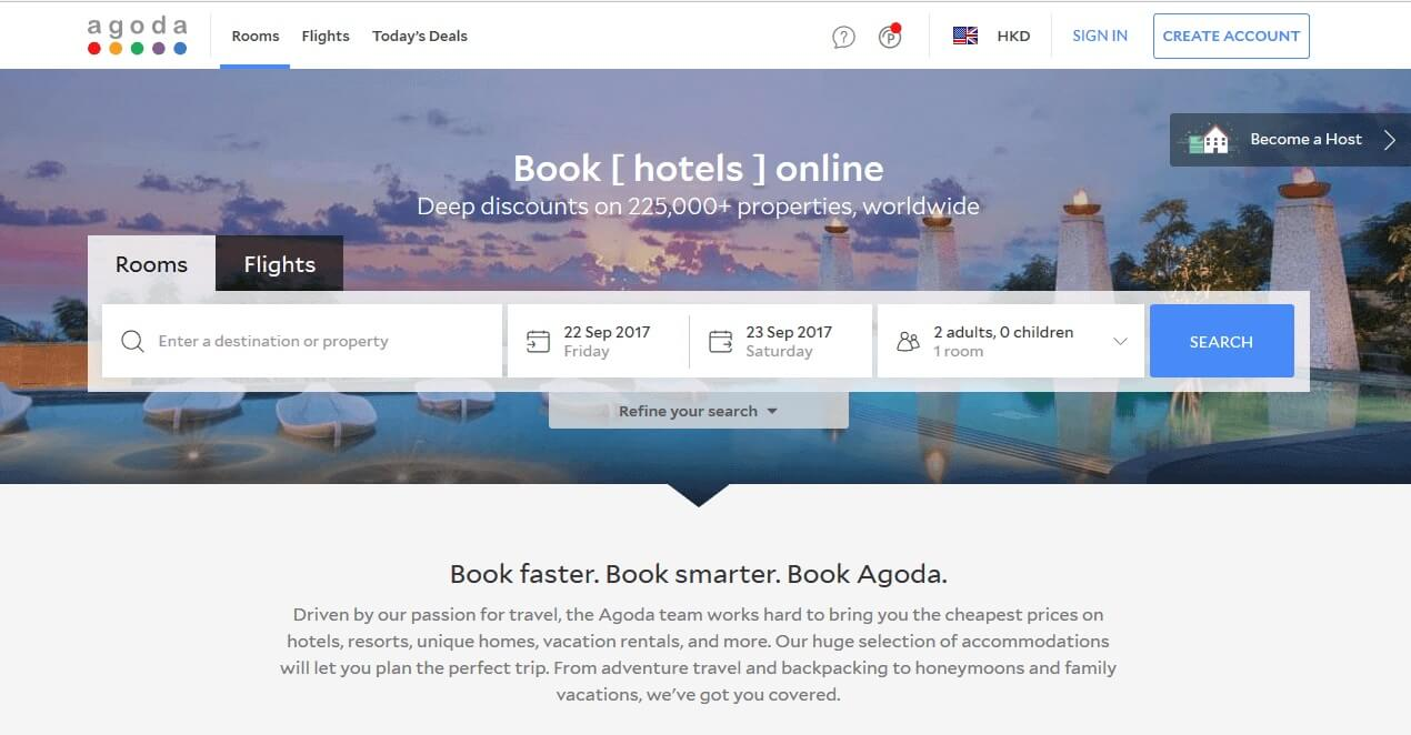 Agoda Booking