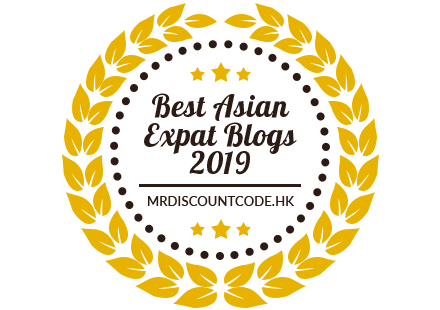 Banners for Best Asian Expat Blogs 2019