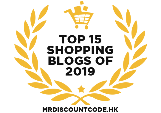 Banners for Top 15 Shopping Blogs of 2019